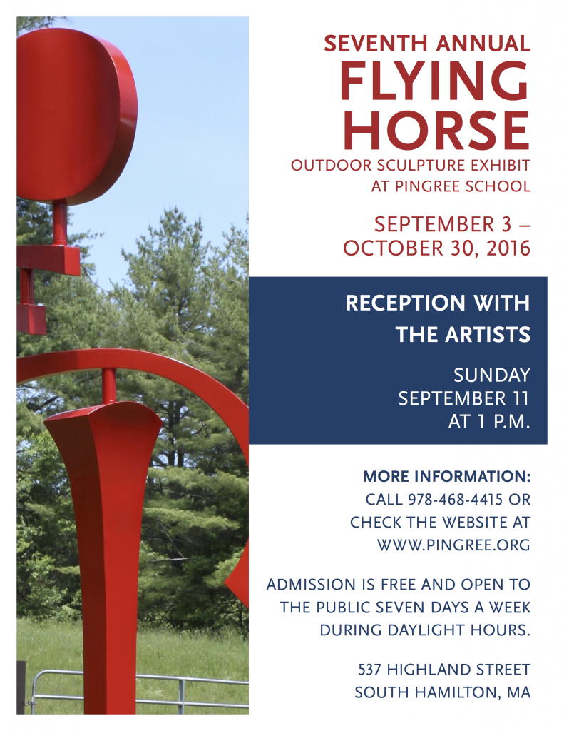 Seventh Annual Flying Horse Outdoor Sculpture Exhibit